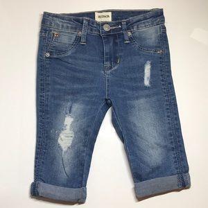 NWOT Hudson Jeans Toddler Girl Crop Jeans *3T